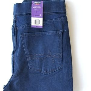 Levi's Jeans - Levi's Denizen Moto Jegging, High Rise